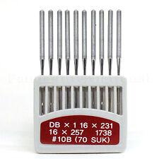 20 Orange DBX1 16X231/257 Industrial Sewing Machine Needles, Size 10B
