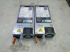 2 Dell PowerEdge R530 R630 R730 R830 R730XD T430 750W Power Supply 08H33M 8H33M