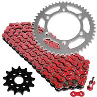 Red Drive Chain And Sprocket Kit for Yamaha YZ125 2005-2018