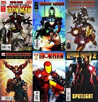 Iron Man One-Shots Marvel Comics - 6 Comics