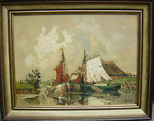 Rudolf Priebe 1889 Schulakowo - Kiew - Hamburg / Impressionist / An der Nordsee