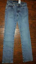 The Gap Size 1 Boot Cut X Long Med Blue Wash Denim Jeans NWOT