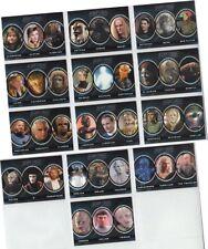 "Complete Star Trek Next Generation TNG Series 1 - 13 Card ""Aliens"" Set A1-A13"