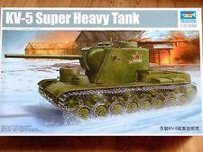Trumpeter 1:35 KV-5 Soviet Super Heavy Tank Model Kit