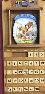 BRADFORD EXCHANGE WINNIE THE POOH PERPETUAL CALENDAR WITH CERTS OF AUTHENTICITY