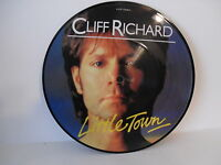 "Cliff Richard, Little Town, 7"" Picture Disc, 1982, EMI Records EMIP 5348, Rock"