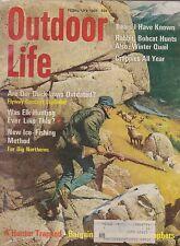 FEB 1969 OUTDOOR LIFE vintage hunting & fishing magazine