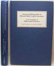 1994 THE LANGUAGE OF MIDDLE ENGLISH LITERATURE BY DAVID BURNLEY & MATSUJI TAJIMA