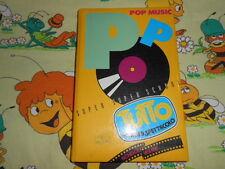 DIARIO Tutto Musica Pop Spettacolo Telegattone School Ware Agenda Vintage Diary