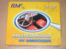 BOITIER 4 CD RARE / RMF / NAJLEPSZA MUZYKA DO SAMOCHODU / NEUF SOUS CELLO