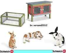 Schleich® Farm Life - Auswahl,Bauernhoftiere, Kaninchen, NEU mit Schleich- Fahne