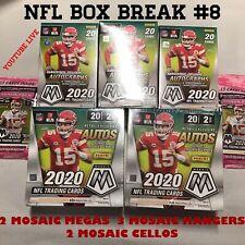 NFL BOX BREAK #8 - GREEN BAY PACKERS - MOSAIC 2 MEGAS 3 HANGERS 2 CELLOS