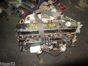 HOLDEN COMMODORE 202 VC VH 3.3 MOTOR  ENGINE GOOD 202 BLACK MOTOR