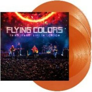 Flying Colors - Third Stage: Live in London - Orange Vinyl 3LP
