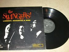 DAVE LAMBERT JON HENDRICKS ANNIE ROSS ZOOT SIMS - THE SWINGERS - ORIG U.S. PRESS