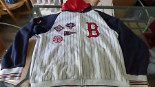 jacket Baseball Red Sox Boston Cooperstown Xl jacket hooded