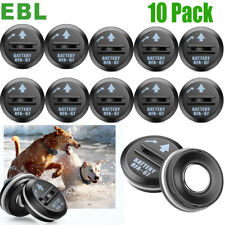 10 Pack Rfa-67 6V Compatible Pet Dog Collar Replacement Battery For PetSafe New