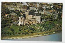 Vintage Postcard Saskatoon Saskatchewan Canada Bessborough Hotel Aerial View