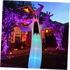 Halloween Inflatable 12FT Ghost with LED RGB Color Changing Light Indoor