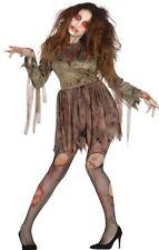 Disfraz De Novia Zombie Cementerio Fantasma Cadáver Para Mujer Halloween Vestido de fantasía