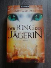 Der Ring der Jägerin, Roman von Andrea Schacht, Jägermond, Katzen, Fantasy-Saga