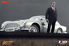 1:18 James Bond 007 Sean Connery VERY RARE!!! NO CARS !! for aston martin