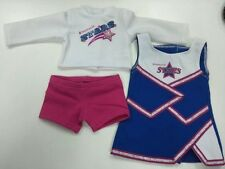 New American Girl - 2014 NEW ITEM -  2-in-1 Cheer Gear Outfit for Dolls Size