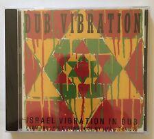 "Israel Vibration In Dub ""Dub Vibration"" CD Ras Records Roots Reggae Brand NEW"