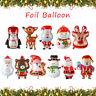 Un cadeau Fête du nouvel an Buck Décoration de Noël Père Noël Helium ballon