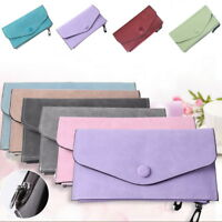 Women LadyLeather Wallet Long Zip Purse Card Phone Holder Case Clutch Handbag