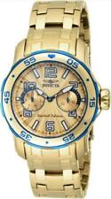 Invicta 17784 Scuba Voyager Limited Edition Gold Tone Day Date Womens Watch