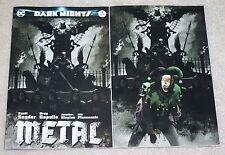 DARK NIGHTS METAL 1 TIM BRADSTREET BATMAN JOKER JESTER VIRGIN VARIANT CON SET 9.