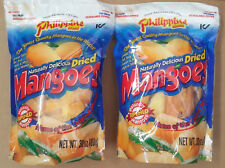 Dried Mangoes 2 * 30 oz bag Naturally Delicious Philippine Brand Mango