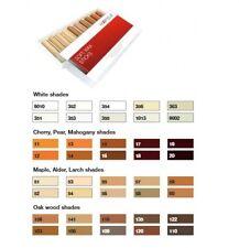 New SOFT WAX STICK ASSORTMENT WOOD FILLER STICKS Pack of 10 White shades HAFELE