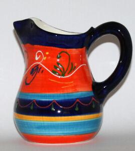 Spanish Ceramic Hand painted Jug 17.5 cm