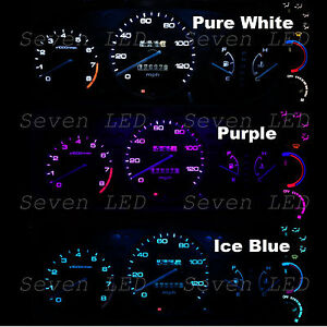 Gauge Cluster and Climate Control LED Kit for Honda Civic EK 99-00 1999 2000