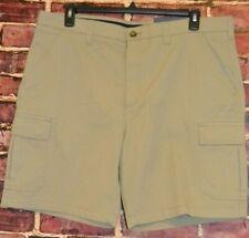 Men/'s Croft/&Barrow Flat Front Shorts Size 50 admrl Navy W// Comfort Waist