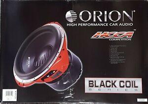 "ORION HCCA154 Black Coil 15"" 4000W MAX DVC DUAL 4 OHM CAR AUDIO BASS SUB WOOFER"