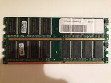 MEMORIE RAM 2 x 1 GB = 2 GB DDR HYNIX PC3200 400 MHz 184 PIN DESKTOP