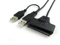 2.0 USB to 2.5 HDD Hard Drive SATA IDE Converter Adapter Cable SATA 7+15 Pin New