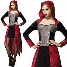 Femmes Médiéval Démon Jeune Fille Vampire Sorcière Déguisement Adulte Halloween