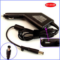 Laptop Car DC Adapter Charger + USB for HP EliteBook 6930p 8730w 8530p 8530w