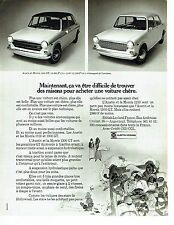 PUBLICITE ADVERTISING 0117  1971  les Austin & Morris  1000 1300 GT
