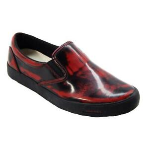 Diesel Sub-Ways Mens High Risk Red Loafers
