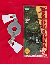 WEEDWAKKA MULTI CUT PLASTIC BRUSHCUTTER BLADE CUTS GRASS AND WOODY WEEDS