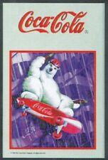 Barspiegel Coca Cola Bär Skateboard,  20 x 30 cm Retro, Nostalgie, Werbung