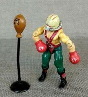 GI Joe ARAH Big Boa V1 Figure Cobra Vintage Original 1987 Action Figure Boxer