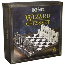Harry Potter Wizard Chess Set Final Challenge Movie Noble Collection NN7580