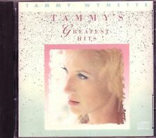 TAMMY WYNETTE Greatest CD 70s Classic Country DIVORCE STAND BY MAN APARTMENT 9
