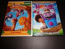 THE LAND BEFORE TIME: THE  AMAZING ADVENTURES & HOME-2 family fun movies-DVD